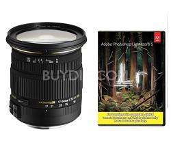 17-50mm f/2.8 EX DC OS HSM FLD Zoom Lens for Nikon Digital DSLR w/ Lightroom