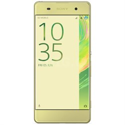 Xperia XA 16GB 5-inch Smartphone, Unlocked - Lime Gold