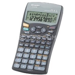 EL531WBBK (Black) Scientific Calculator