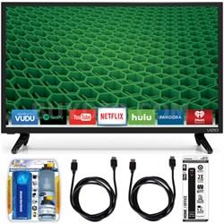 """D24-D1 D-Series 24"""" Class Edge-Lit LED Smart TV Essential Accessory Bundle"""