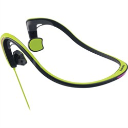 Open-Ear Bone Conduction Headphones with Reflective Design, Green - OPEN BOX