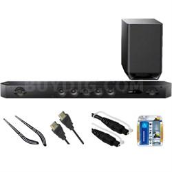 Hi-Res 7.1 Channel Sound Bar with Wireless Subwoofer HT-ST9 w/ Bracket Kit