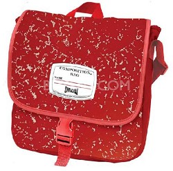 Official Composition Backpack/Messenger Bag  (Red)