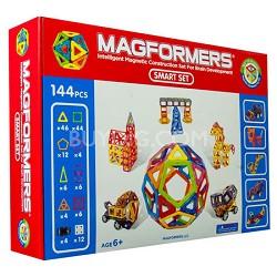 63083 Smart 144pc Magnetic Construction Set