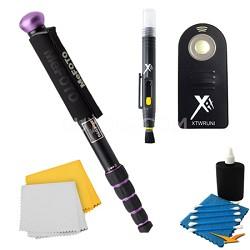 WalkAbout Purple Monopod Accessory Kit