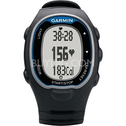 FR70 Black and Blue Fitness Watch with Heartrate Monitor