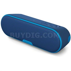 SRS-XB2 Portable Wireless Bluetooth Speaker - Blue