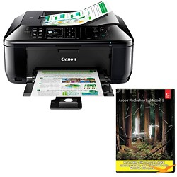 PIXMA MX522 Wireless Inkjet Office All-In-One Printer w/ Photoshop Lightroom 5