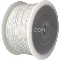 White 1.75mm ABS Filament