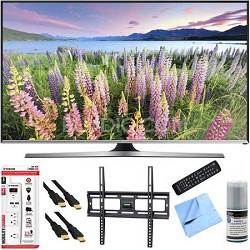 UN48J5500 - 48-Inch Full HD 1080p Smart TV Plus Mount & Hook-Up Bundle