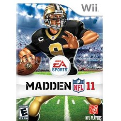 Madden NFL 11 For Nintendo Wii