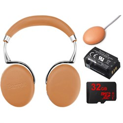Zik 3 Wireless Noise Cancelling Bluetooth Headphones Ultimate Bundle (Camel)