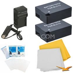 2 Pack Battery Kit For The Panasonic FZ200