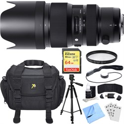 50-100mm f/1.8 DC HSM Lens for Canon Mount Essential Accessory Deluxe Bundle
