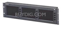 LMD5320 3 X 5.6 Inch LCD Video Monitor