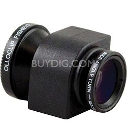 3-in-1 Lens System for iPhone 4/4S - Black