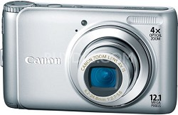 PowerShot A3100IS 12MP Digital Camera (Silver)Factory Refurbished