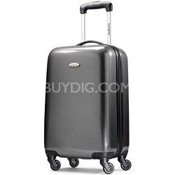 "Winfield Fashion Lightweight 20"" Hardside Spinner Luggage - Black/Silver"