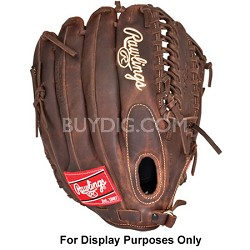 """Heart of the Hide Trap-Eze Solid Core 12.75"""" Baseball Glove (Left Hand Throw)"""