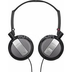 MDR-NC7/BLK Noise Canceling On-Ear Headphones