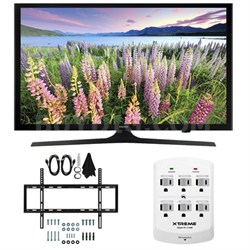 UN40J5200 - 40-inch Full HD 1080p Smart LED HDTV Slim Flat Wall Mount Bundle