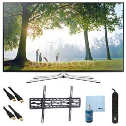 """UN65H6350 - 65"""" HD 1080p Smart HDTV 120Hz with Wi-Fi Tilt Mount & Hook-Up Bundle"""