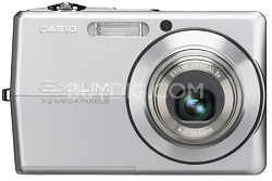 "EX-Z700 7 MP with 3X Optical Zoom and Super Bright 'Hi-Res"" 2.7"" LCD (SIlver)"