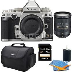Df Full-Frame Digital SLR Camera with Nikon 18-200mm Kit