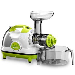 NJE-3530U Masticating Slow Juicer, lime - OPEN BOX