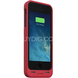 Juice Pack Helium Special Edition Snap Pack Battery Case for iPhone 5/5s (Red)