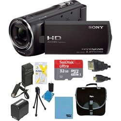 HDR-CX405/B Full HD 60p Camcorder Bundle Deal (Black )