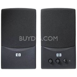 2-piece USB Multimedia Speakers