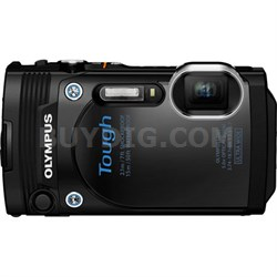"TG-860 Tough Waterproof 16MP Digital Camera with 3"" LCD (Black) - Refurbished"