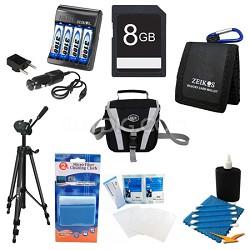 Pro AA Battery 8GB Kit - Fujifilm S2950, S4200, S4500, CANON SX160, GE X50