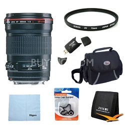 135mm f/2.0L USM Telephoto Lens Exclusive Pro Kit