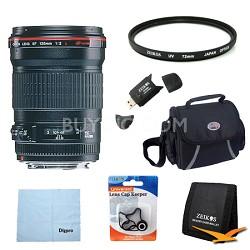 135mm f/2.0L USM Telephoto Lens Exclusive Pro Kit