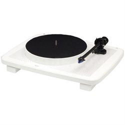 Ikura Split-Plinth Design Belt Driven Turntable - White