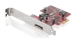 eSATA 3Gbps 1-Internal & 1-ExternalPort Low-Profile PCI Express Card - GICe711S3