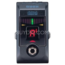 Pitchblack True Bypass Chromatic Tuner Pedal with 4 Display Modes