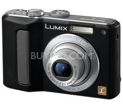 "DMC-LZ8 (Black) Lumix 8M Digital Camera w/ 5x Optical Zoom & 2.5"" LCD - OPEN BOX"