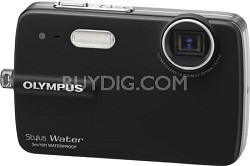 Stylus 550 10MP Waterproof Digital Camera (Black)