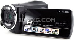 DV800HD-B Camcorder HD H.264 3.0 Wide Touch Screen, Motion Detection - Black
