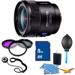 SAL24F20Z - 24mm f/2.0 Wide Angle Lens for Sony Alpha DSLR's Essentials Kit