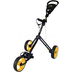 Silver Ray Push Cart, Black