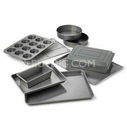 10-pc. Nonstick Dishwasher Safe Bakeware Set - 1870839