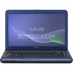 "VAIO VPCEG23FX - 14.0"" Laptop Core i3-2330M (Blue)"