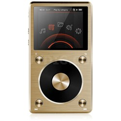 X5-II High Resolution Lossless Music Player - Gold