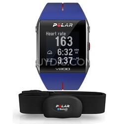 V800 GPS Sports Watch with Heart Rate Monitor, Blue/Red (90050556)