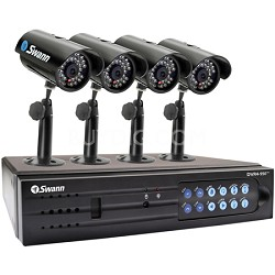 SW343-DPM - 4 Channel DVR, 320 GB HDD w 4 x ADS-150 Cameras