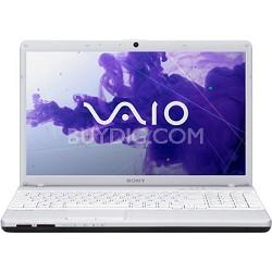 """VAIO VPCEH36FX/W 15.5"""" Notebook PC -  Intel Core i3-2350M Processor (White)"""